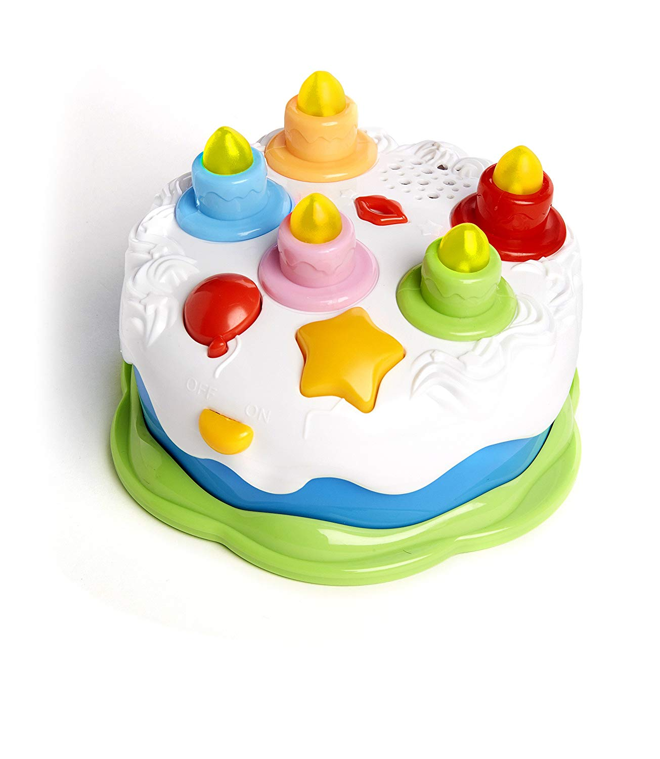 Get Quotations Twinkle Me Musical Birthday Cake Toy