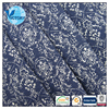 Acrylic Wool Polyester Jacquard Double SideD Interlock Knit Fabric