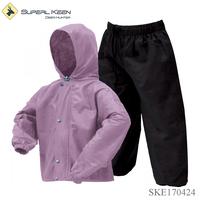 Children Lightweight Rain Gear Breathable Durable Rain Suit