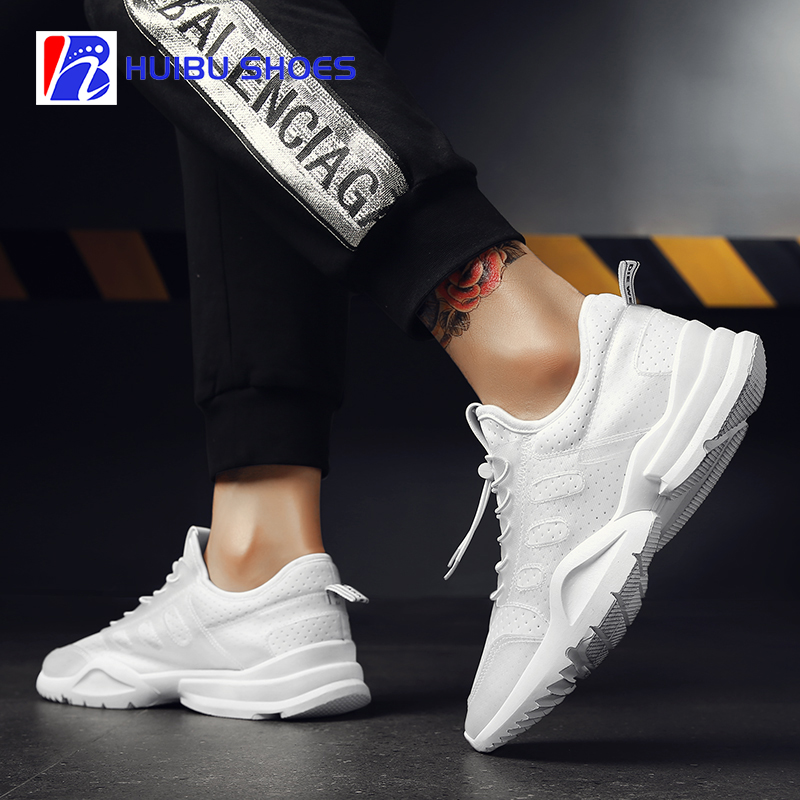 Cheap mesh sneakers shoes with for running casual custom sports logo men shoes 7AZ7f