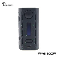 2018 newest vape mod Tesla WYE 200w With ABS+PC material hot selling ecigs