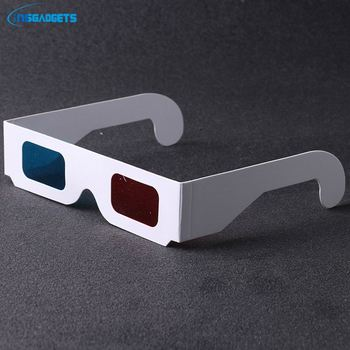 2018 new custom red len paper 3d glasses DmBh0t 3d glasses red cyan glasses