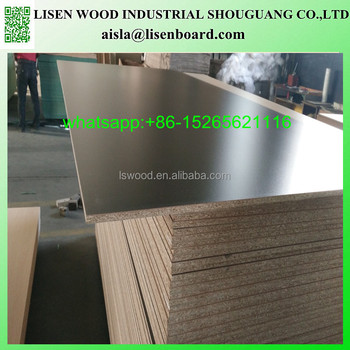 Waterproof Melamine Particle Board Chipboard Price For Furniture Cabinet