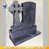 Polish Finish Bahama Blue Granite Celtic Cross Memorials