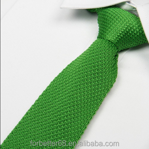Knitting pattern mens ties,Cheap wholesale neckties,Monochrome plain ties
