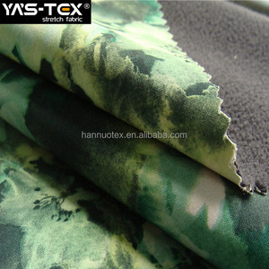 Free samples sportswear camouflage fabric waterproof breathable laminated 100 polyester polar fleece fabric