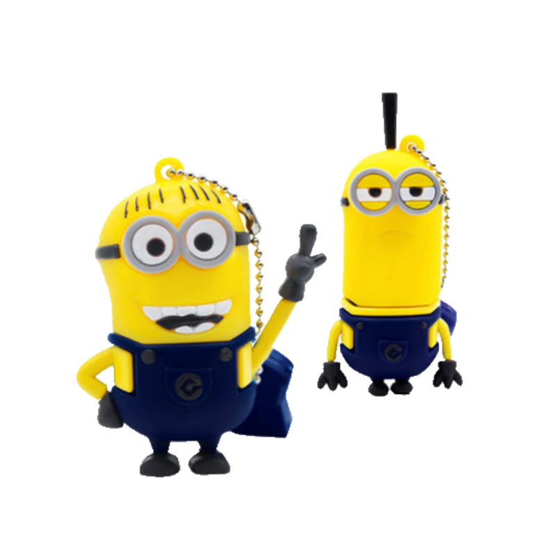 minions cartoon characters usb flash drive for promotion gift