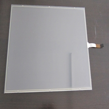 12.1 inch sensitive transparent glass 5 wire resistive touch screen