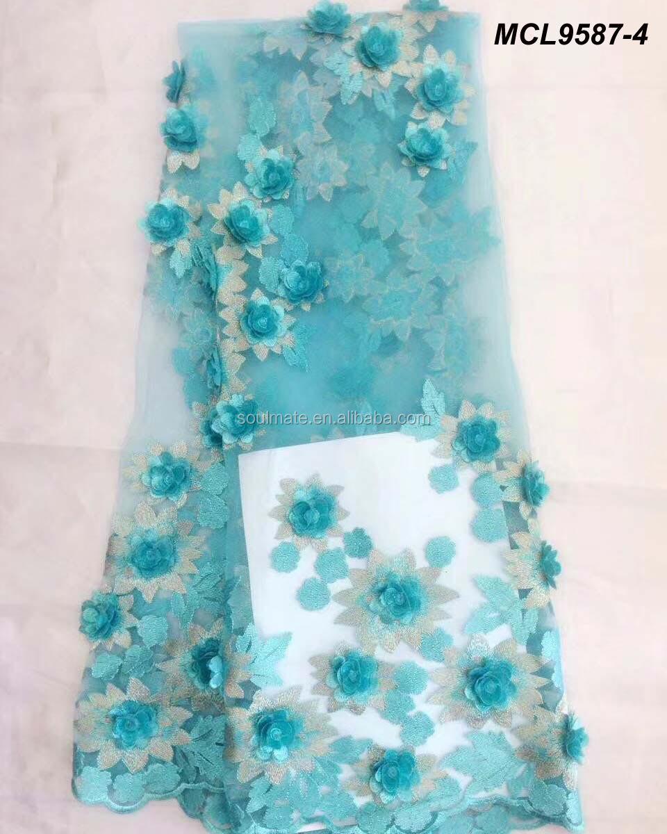 Venta al por mayor flores de tela para vestidos de novia-Compre ...
