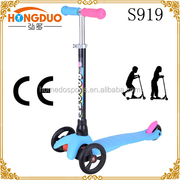 China supplier kids tricycle 100% Alumnium foldable kick scooter