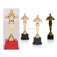 Hotsale Trophy Models, Small Plastic Oscar Trophy, World Cup Sports Gold Trophy