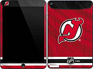 NHL New Jersey Devils iPad Mini 4 Skin - New Jersey Devils Home Jersey Vinyl Decal Skin For Your iPad Mini 4