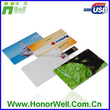Price Down 8Gb Business Card usb Flash With Printing