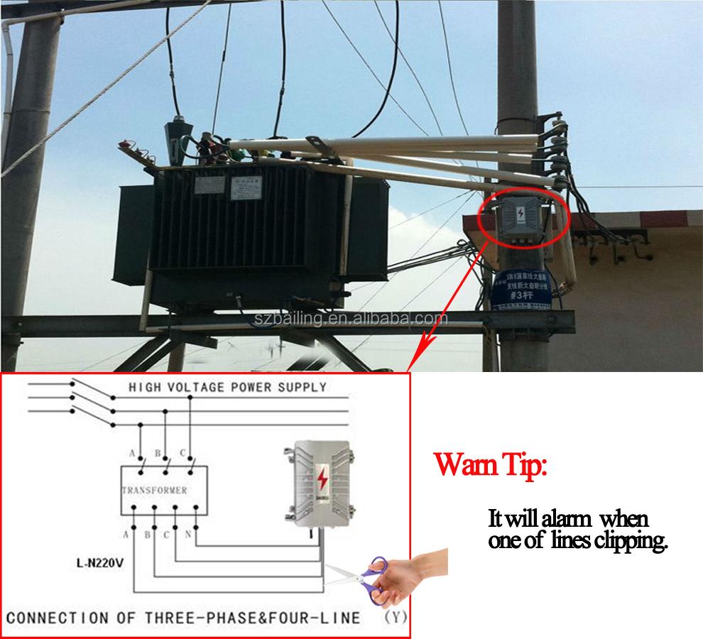 Anti Theft Camera Surveillance Power Transformer Gsm Alarm System Wiring Diagram