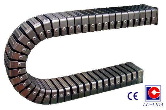 Flexible Cable Track : Dgt enclosed flexible cable duct buy