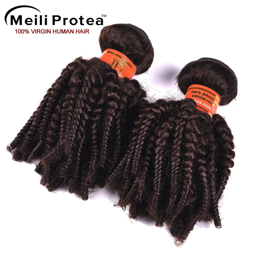 Unprocessed 7a grade wholesale brazilian hair #2 funmi curly human hair wholesale