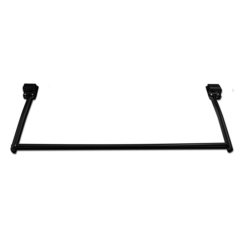 AA-Racks Steel Rear Cargo Roller Bar For Two/Three Van Rack - Black
