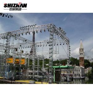China Aluminum Alloy Lighting Truss System For Stage Decoration