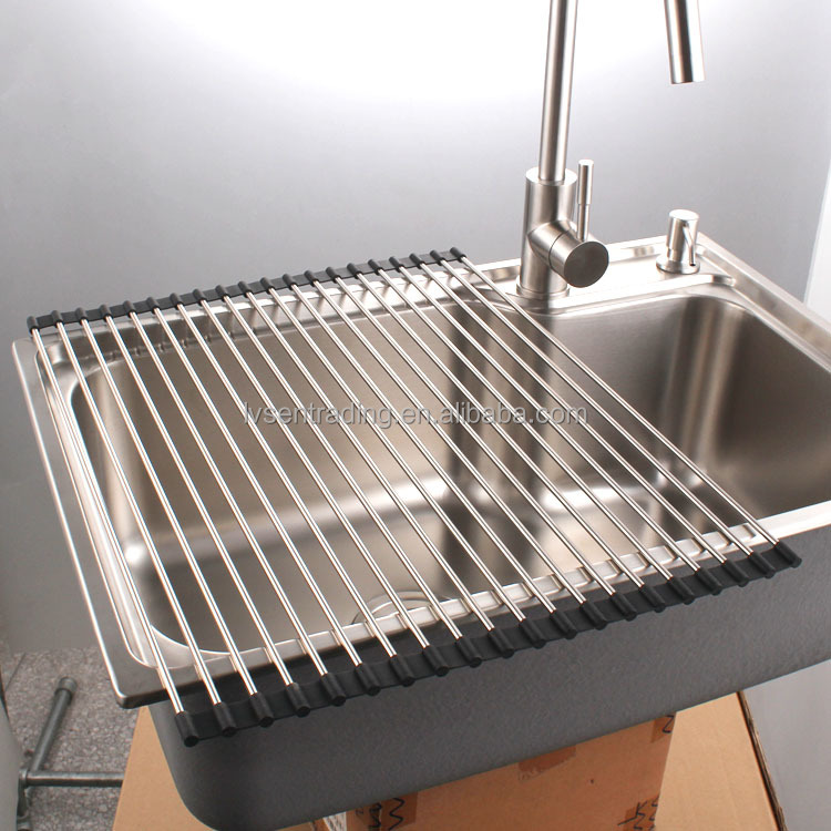 Silicone Dish Drainer, Silicone Dish Drainer Suppliers And Manufacturers At  Alibaba.com
