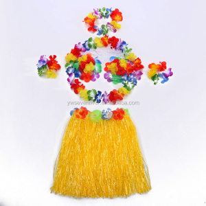 Hawaii Hula Performance kit Party stage performances artificial silk flower hawaii wreath