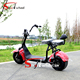 2017 New product citycoco 1000w cheap electric bike electric scooter bicycle used for adults