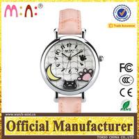 24kupi watch OEM logo mini fob watch dial pad printing machine