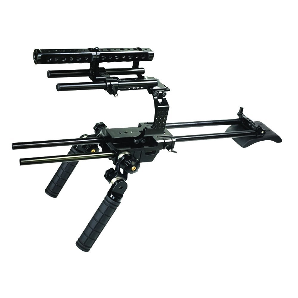 Battle Tested Film Gear 954-CH-FS700-RIG1 Camtree Hunt Cage Rig for Sony NEX-FS700 (Black)