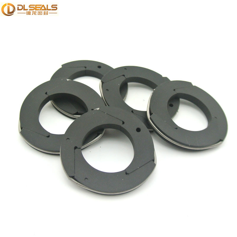 PTFE+carbon fiber Compressor Ring Seals for CNG Compressor