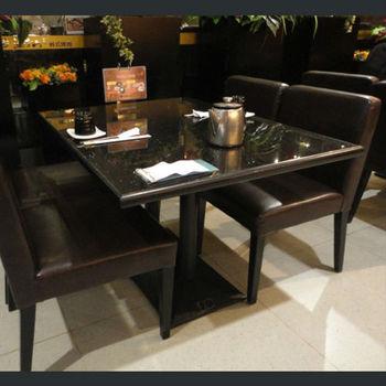 Royal artificial stone quartz stone top dining tables for Quartz top dining table