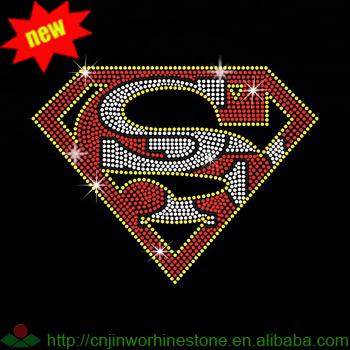 07a2ef316b109 Super Hero SF Football Rhinestone Heat Transfer Design for Children Garments