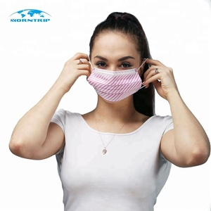 Disposable Face Mask Nonwoven Cartoon Printed Fashionable Medical Mask