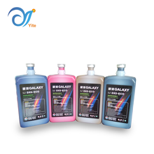 1000ml Compatible Galaxy DX4 DX5 DX7 Print Head Eco Solvent Printing Ink for Epson Roland Mimaki Mutoh Printer