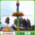 Amusement park rides tower drop ride mini free fall tower rides Jumping Circle for sale