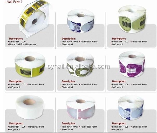 Good Quality Professional Nail Art Form Uv Gel Nail Extension ...