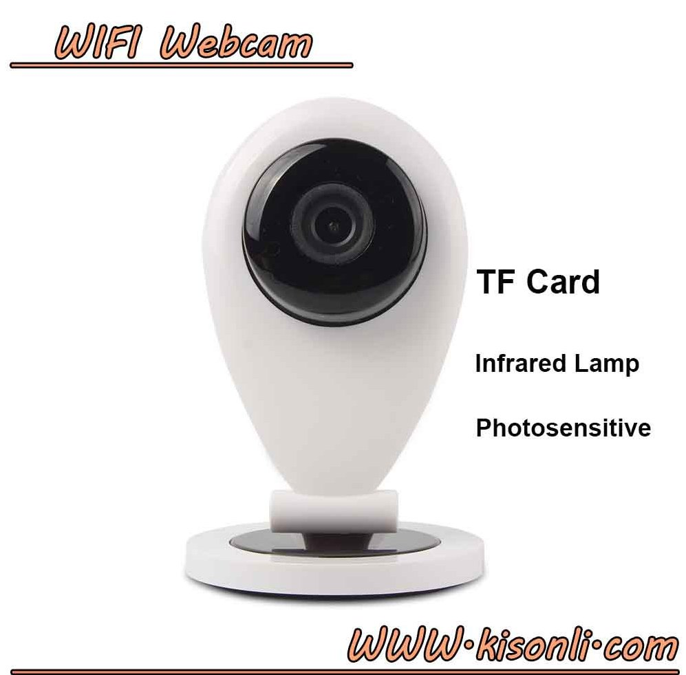 Wide Angle Outdoor Wireless 3g ip Video Camera