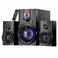High quality tower 2.1 to 5.1 wireless home theater system