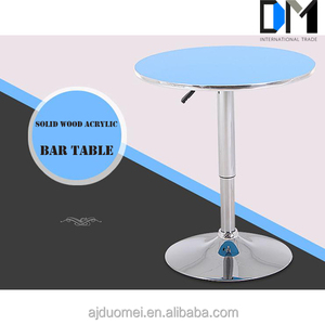 Acrylic Bar Table Furniture for Night Club/Kitchen Bar Table