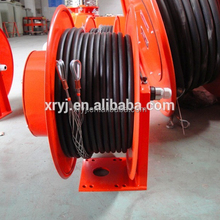 Large strength small size automatic cable reel for cable control