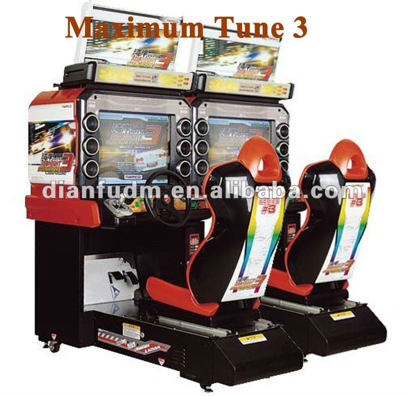 Maximum Tune Arcade Driving Car Game Machine Double Players