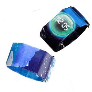 HXY 2019 Amazon Trendy Fashion Durable Waterproof Paper Smart Digital Tyvek Watch Paper Watch for Men Women Kids