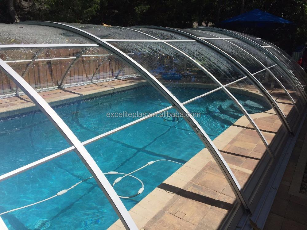 Retractable Enclosures Swimming Pool Enclosure Inground Pool Cover,  Retractable Enclosures Swimming Pool Enclosure Inground Pool Cover  Suppliers And ...