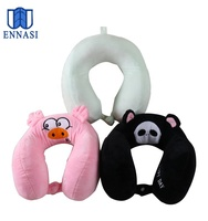 Small Children Cartoon Animals Memory Foam U-Shape Neck Pillow