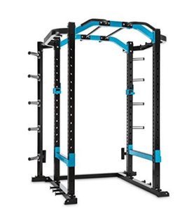 Heavy Duty Power Cage with Multi Grip Pull Up Bar