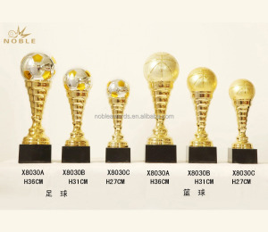 Wholesale Customized Gold Plate Football Basketball Metal Sport Trophy Cups
