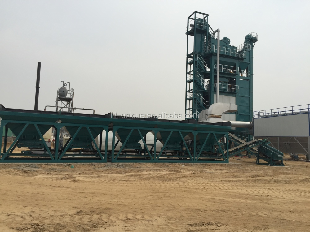 UNIQUE Construction Road Asphalt hot mixing plant