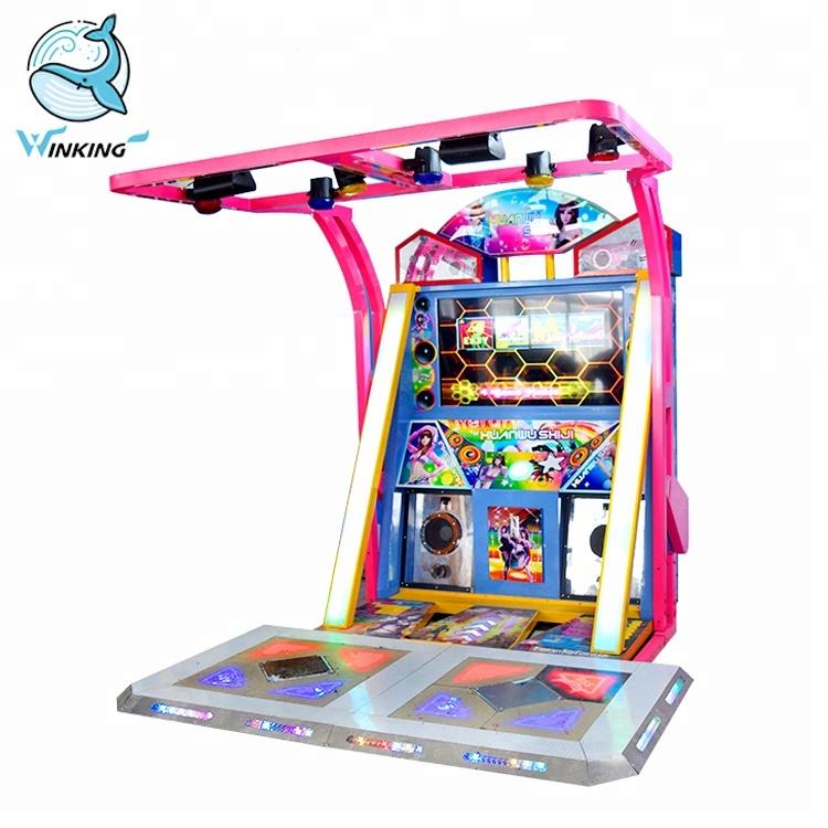 Танцевальные игровые автоматы движения казино виртуальное играть бесплатно
