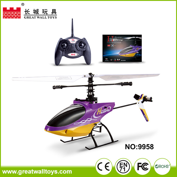 4 channel remote control model rc airplane