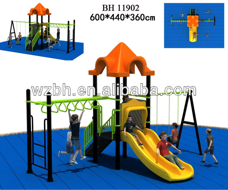 Kids Plastic Giant Slide Playsets ,Playground slide ,Outdoor playground equipment