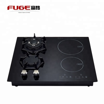4 Burners Hybrid Fg Qt42 Gas Induction Combine Cooker Hob