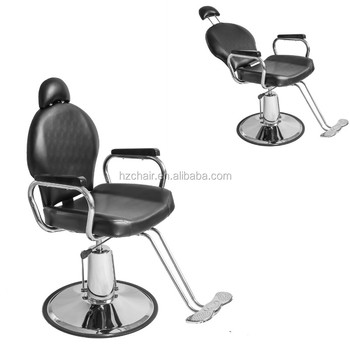 Hairdressing salon barber chairs with recline/Mobile hair salon equipment